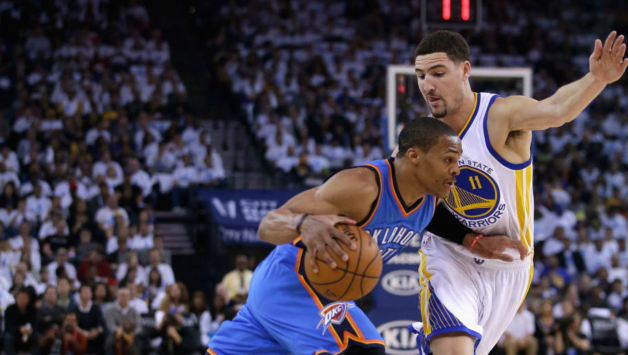 Russell Westbrook,Klay Thompson