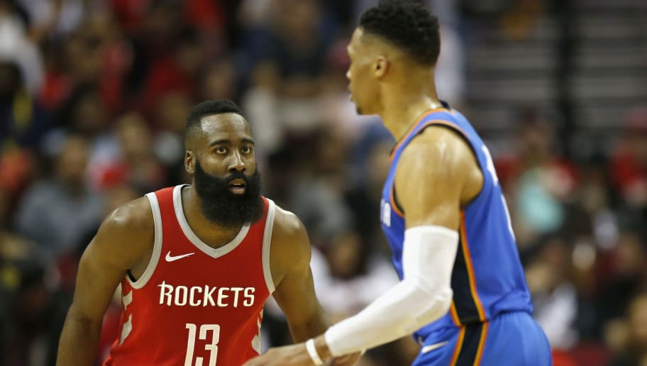 James Harden,Russell Westbrook