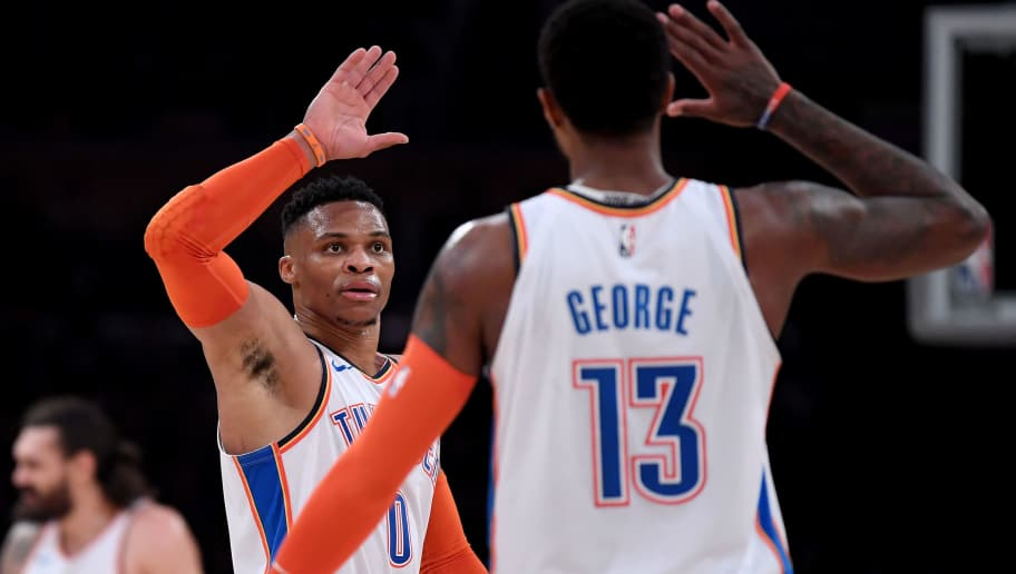Russell Westbrook,Paul George
