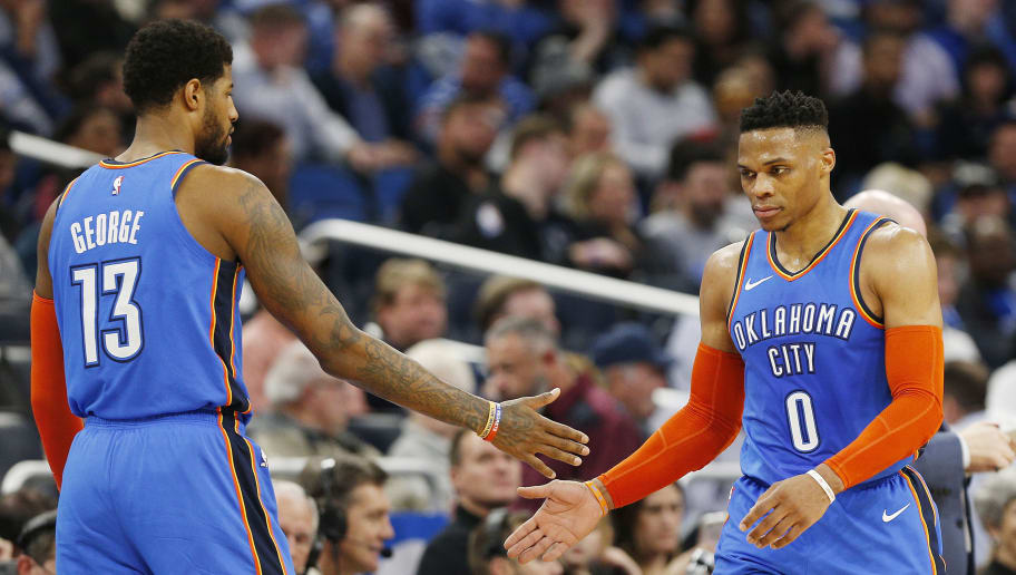 Paul George,Russell Westbrook
