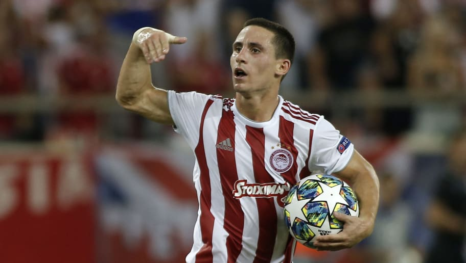 Arsenal Eye January Move for Olympiacos Ace Daniel Podence