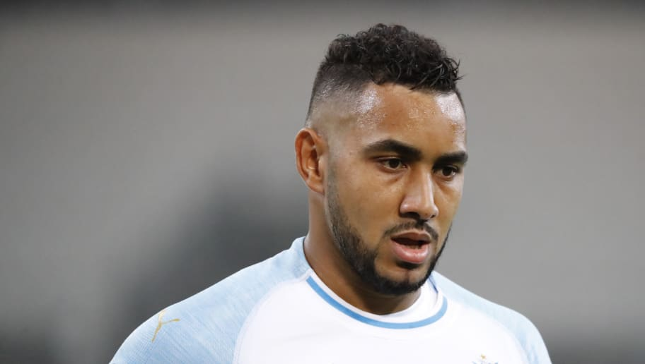 MARSEILLE, FRANCE - OCTOBER 25: Dimitri Payet of Olympique de Marseille looks on during the UEFA Europa League Group H match between Olympique de Marseille and SS Lazio at Stade Velodrome on October 25, 2018 in Marseille, France.  (Photo by Guillaume Ruoppollo - OM/Getty Images)