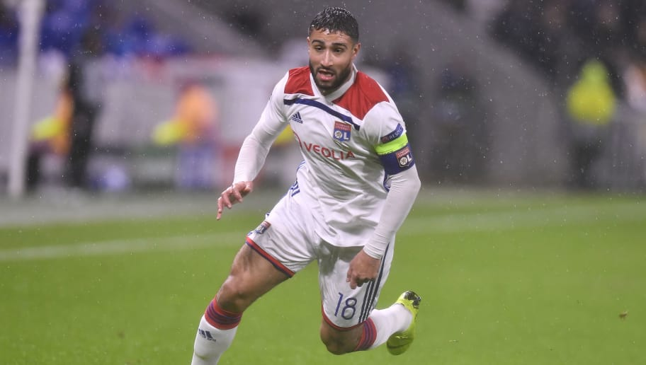 LYON, FRANCE - NOVEMBER 07:  Nabil Fekir of Olympique Lyonnais in action during the Group F match of the UEFA Champions League between Olympique Lyonnais and TSG 1899 Hoffenheim at Groupama Stadium on November 7, 2018 in Lyon, France.  (Photo by Aurelien Meunier/Getty Images)