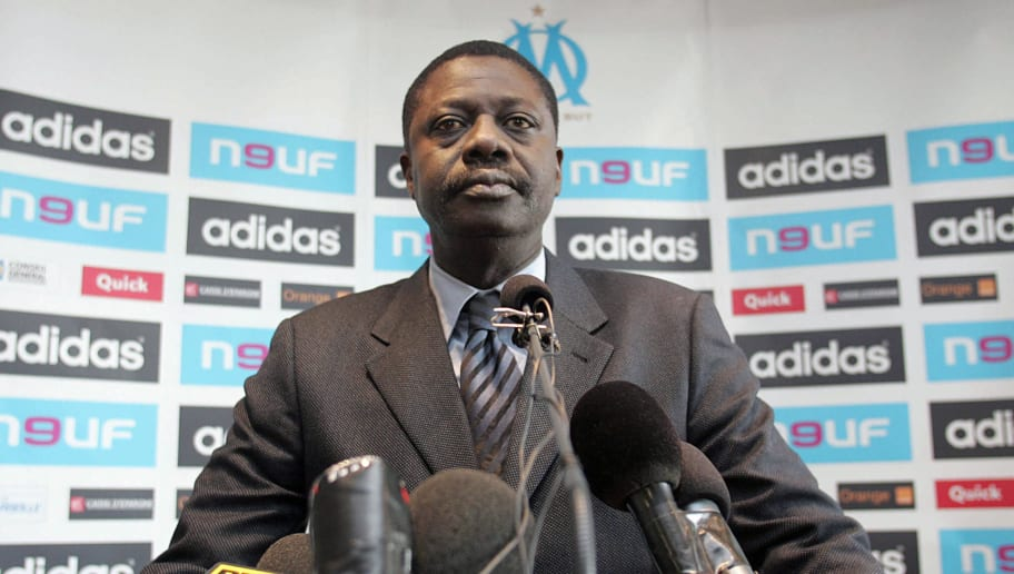 Olympique Marseille (OM) President Pape...