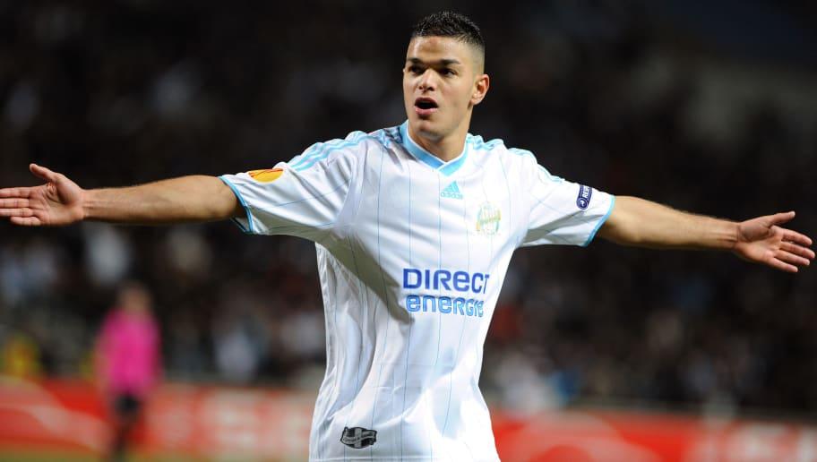 Olympique Marseille's midfielder Hatem B