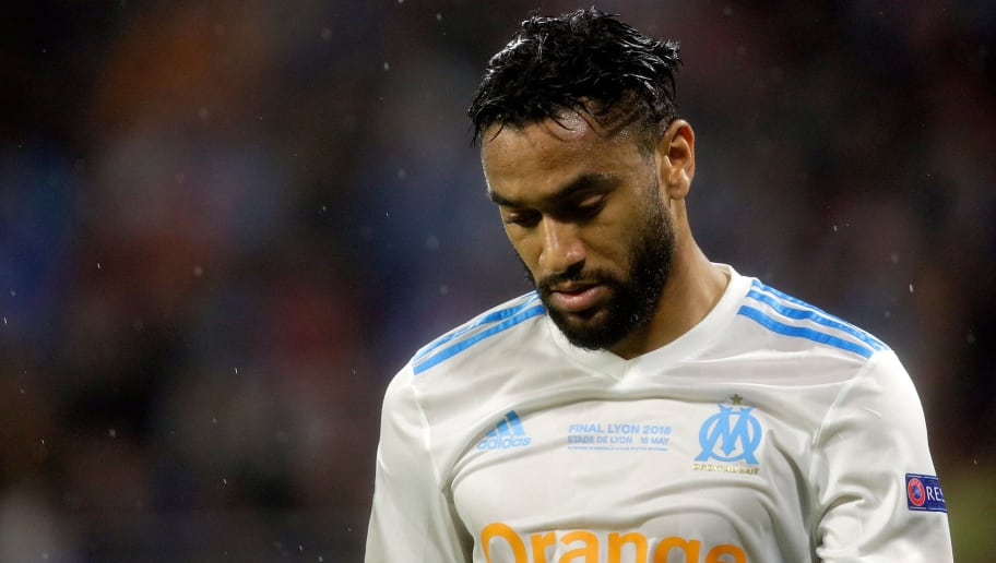 LYON, FRANCE - MAY 16: Jordan Amavi of Olympique Marseille  during the UEFA Europa League   match between Olympique Marseille v Atletico Madrid at the Parc Olympique Lyonnais on May 16, 2018 in Lyon France (Photo by Erwin Spek/Soccrates/Getty Images)