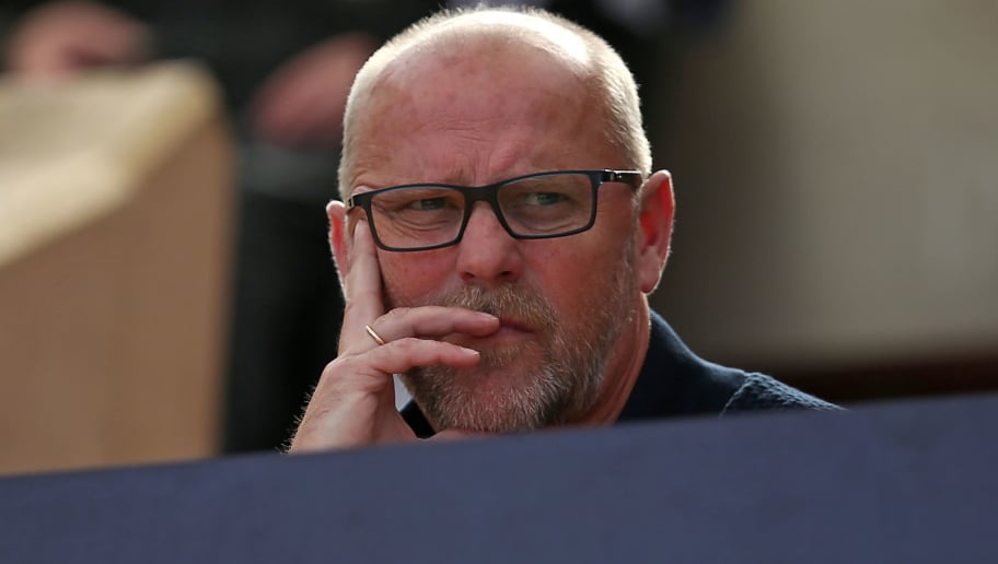 BREMERHAVEN, GERMANY - JULY 10: Thomas Schaaf looks on during the friendly match between OSC Bremerhaven and Werder Bremen on July 10, 2018 in Bremerhaven, Germany. (Photo by TF-Images/Getty Images)