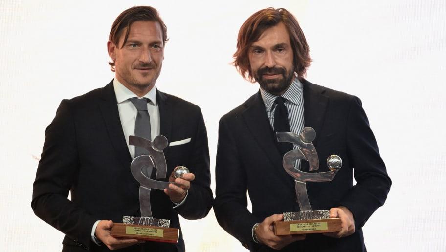 Francesco Totti,Andrea Pirlo
