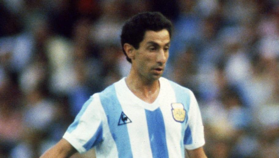 Ossie Ardiles of Argentina