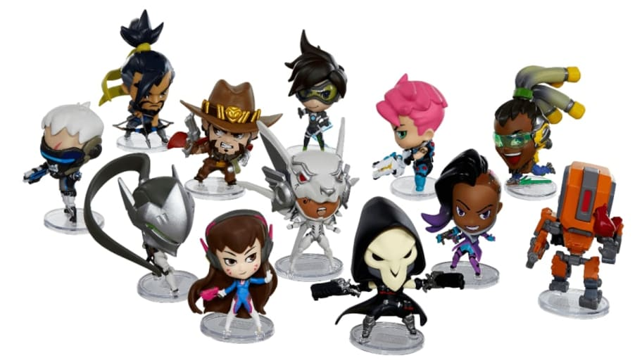 Overwatch Cute But Deadly Series 3 mystery figure is one of these heroes.