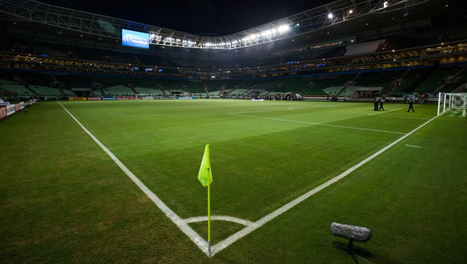 SAO PAULO, BRAZIL - MAY 24:General view of the stadium before the match between Palmeiras and Atletico Tucuman for the Copa Bridgestone Libertadores 2017 at Allianz Parque stadium on May 24, 2017 in Sao Paulo, Brazil. (Photo by Alexandre Schneider/Getty Images)