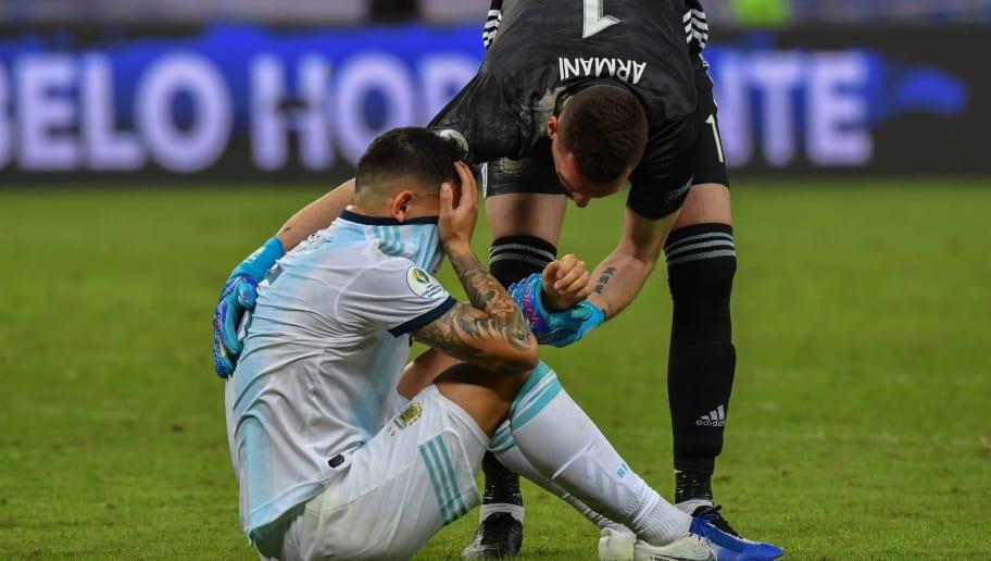 TOPSHOT-FBL-COPA AMERICA-2019-BRA-ARG