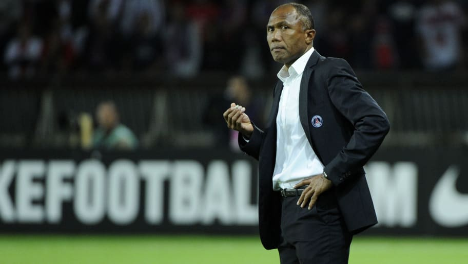 Paris Saint-Germain coach Antoine Kambou