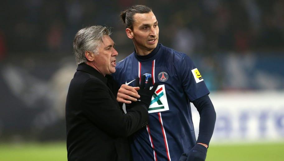 Zlatan Ibrahimovic,Carlo Ancelotti