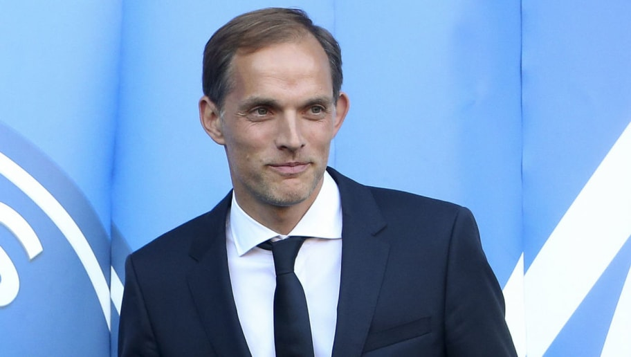 PARIS, FRANCE - MAY 20: Thomas Tuchel of Germany is presented as new coach of Paris Saint-Germain (PSG) at Parc des Princes stadium on May 20, 2018 in Paris, France. (Photo by Jean Catuffe/Getty Images)