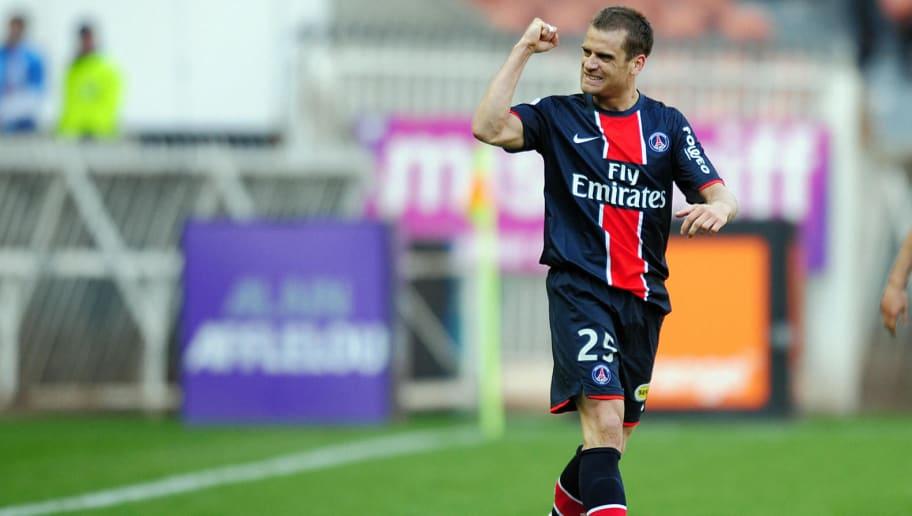 Paris Saint-Germain's midfielder Jerome