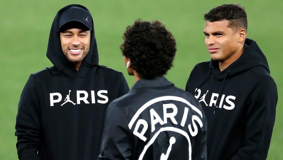Neymar Jr,Marquinhos,Thiago Silva