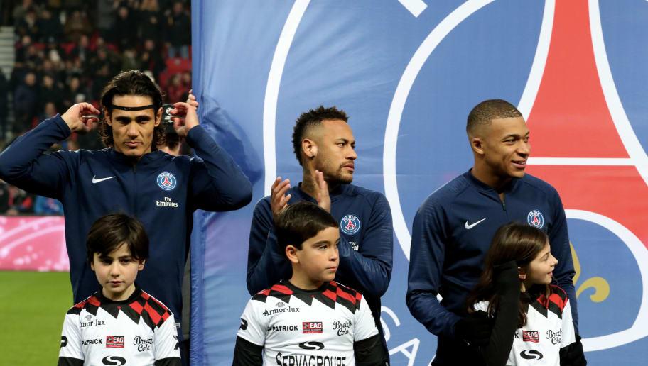 Kylian Mbappe,Edinson Cavani,Neymar Jr
