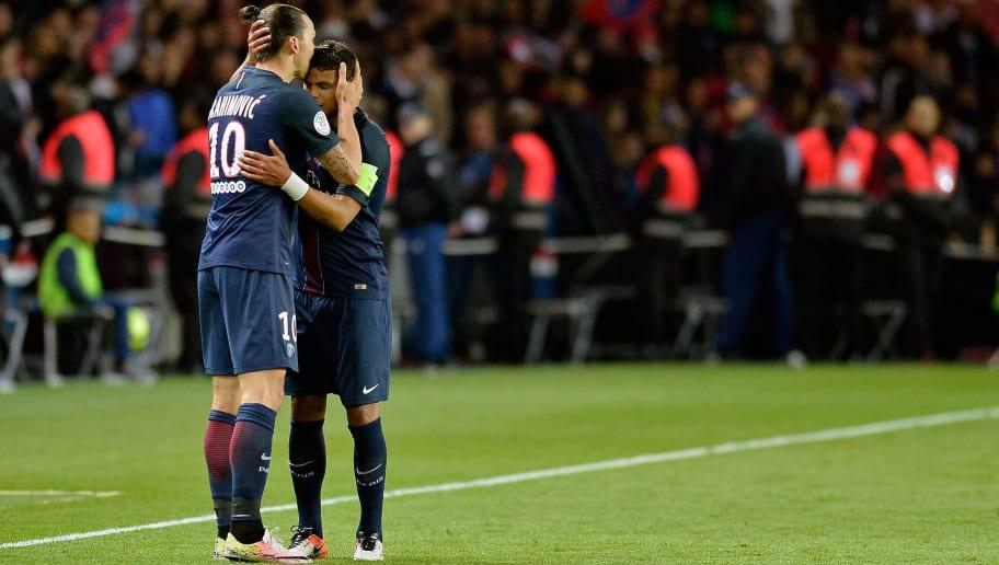 Zlatan Ibrahimovic,Thiago Silva