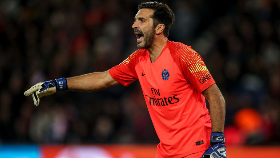 Image result for gianluigi buffon psg getty images