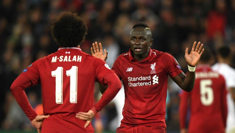 Sadio Mane,Mohamed Salah