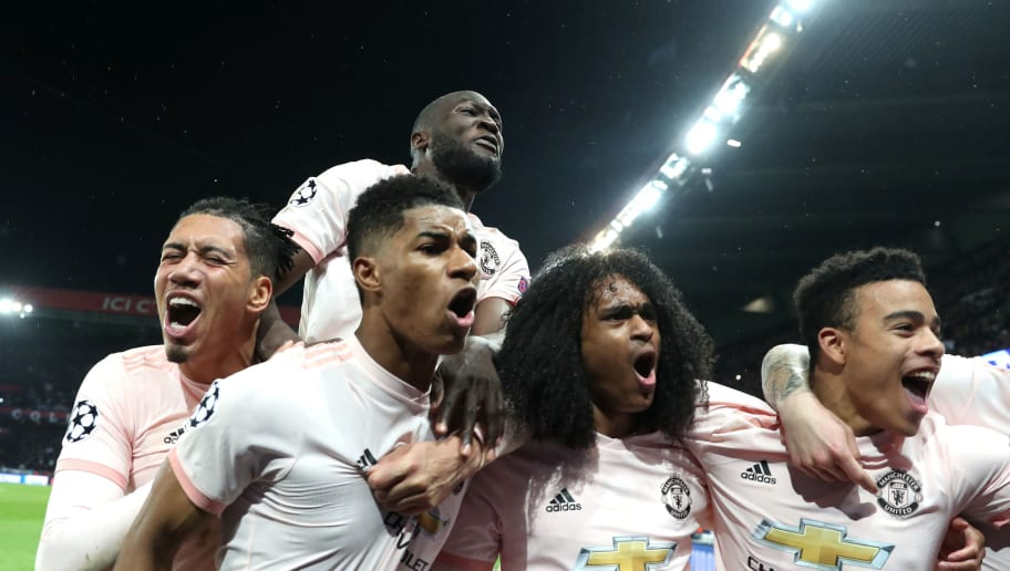 Marcus Rashford,Chris Smalling,Tahith Chong