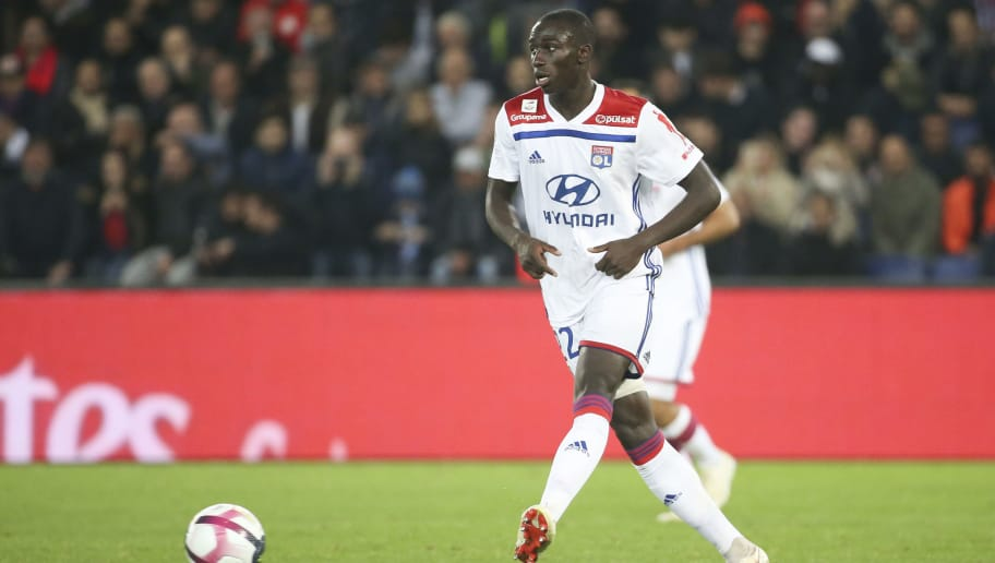 PARIS, FRANCE - OCTOBER 7: Ferland Mendy of Lyon during the french Ligue 1 match between Paris Saint-Germain (PSG) and Olympique Lyonnais (OL, Lyon) at Parc des Princes stadium on October 7, 2018 in Paris, France. (Photo by Jean Catuffe/Getty Images)