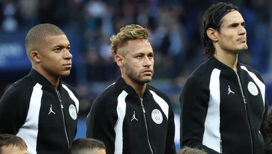 Kylian Mbappe,Neymar Jr,Edinson Cavani
