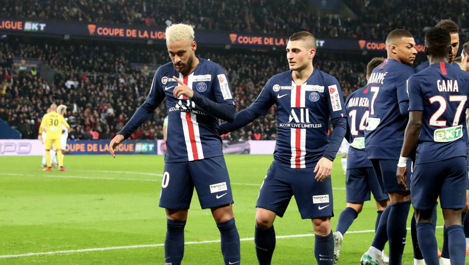 Paris Saint-Germain v Saint-Etienne ASSE - Ligue Cup