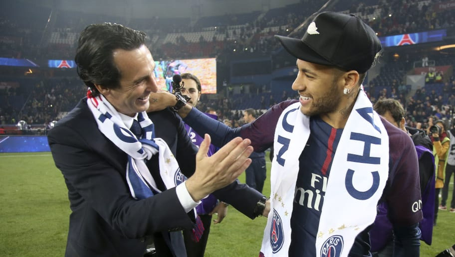 Neymar Jr,Unai Emery