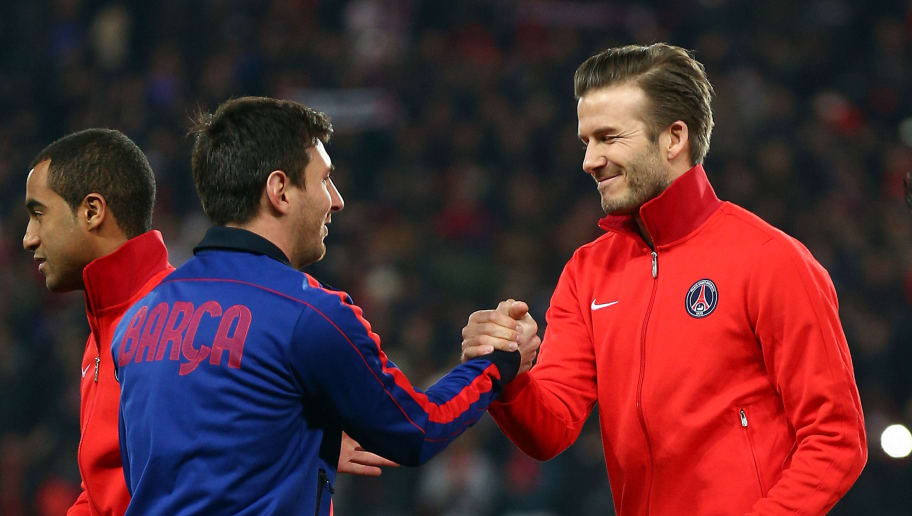 David Beckham Reportedly Contacts Lionel Messi Over A Potential Switch to the MLS