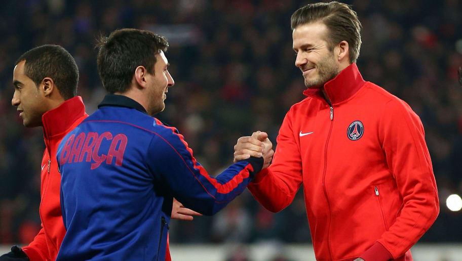 Lionel Messi,David Beckham