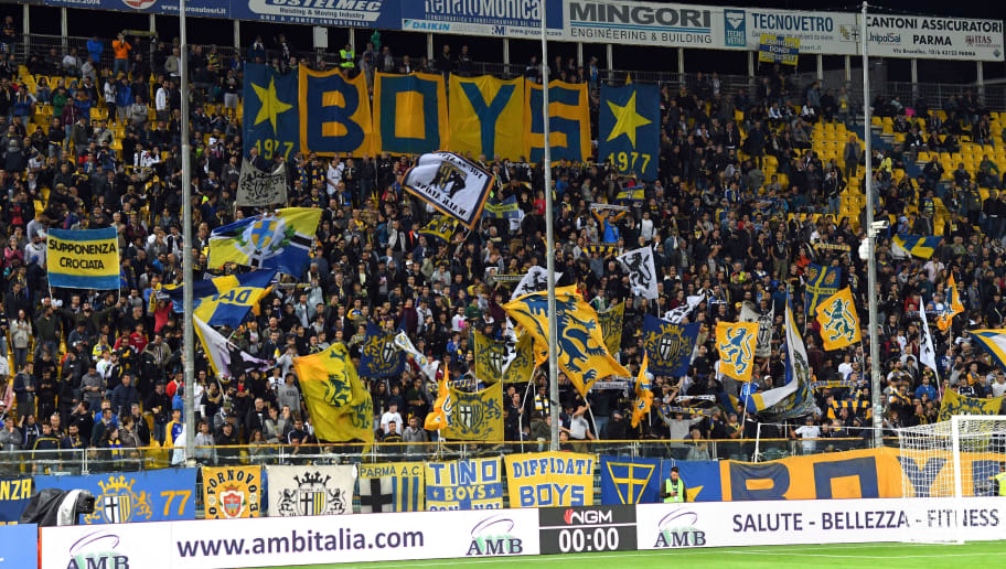 Parma Calcio fans