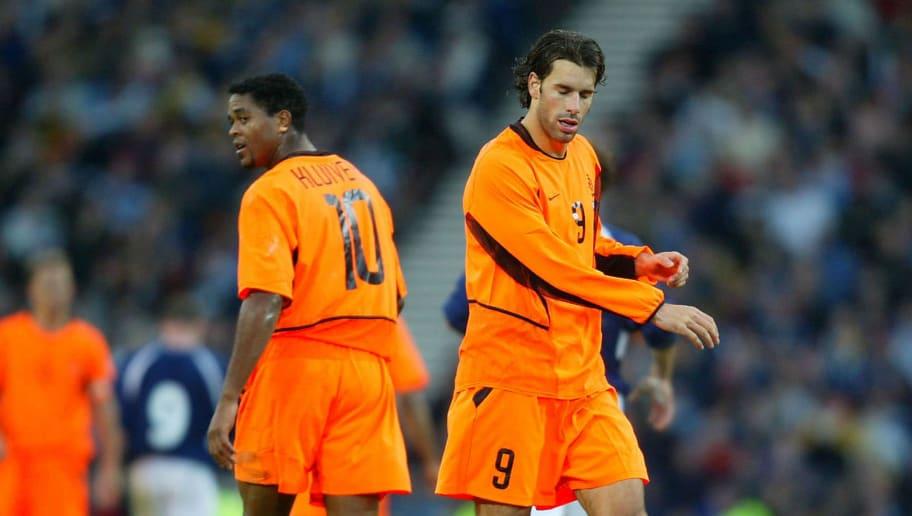 Patrick Kluivert and Ruud van Nistelrooy