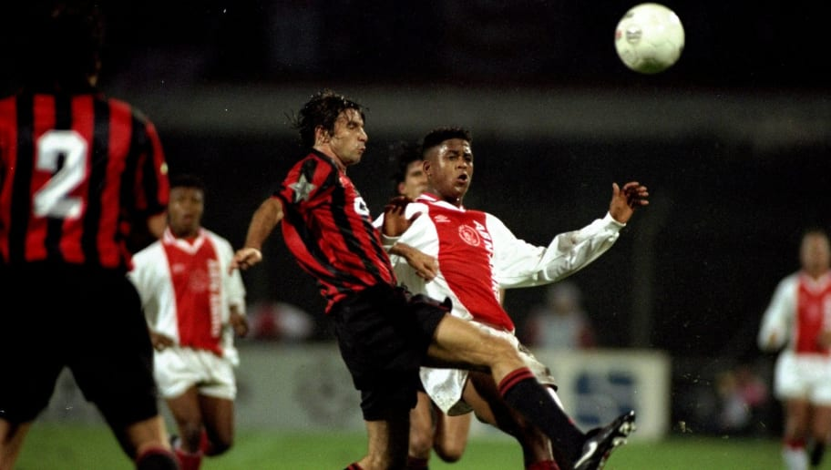 Patrick Kluivert of Aiax