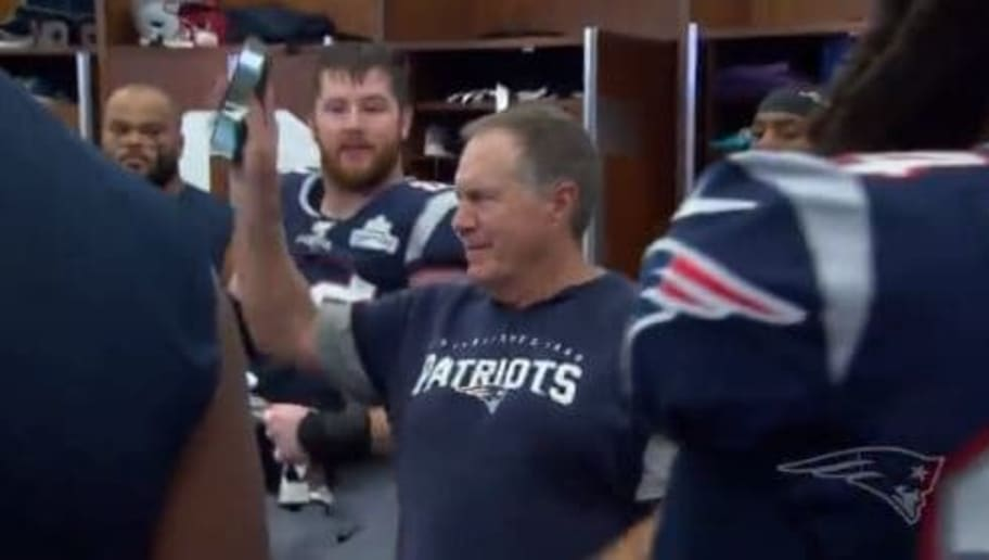 VIDEO: Go Inside the Patriots' Locker Room After Their Big Win Over the Steelers