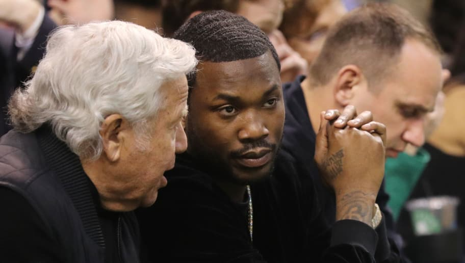 Meek Mill Reveals What He Spoke About With Robert Kraft and Gucci Mane at  Celtics-Sixers Game 6831535b073
