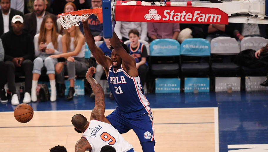 joel embiid has fond memories of dunking on his new gm 12up