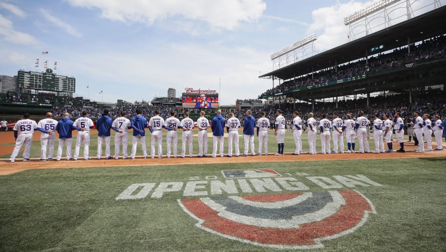 graphic about Printable Cubs Schedule known as Mlb Program 2019 Opening Working day