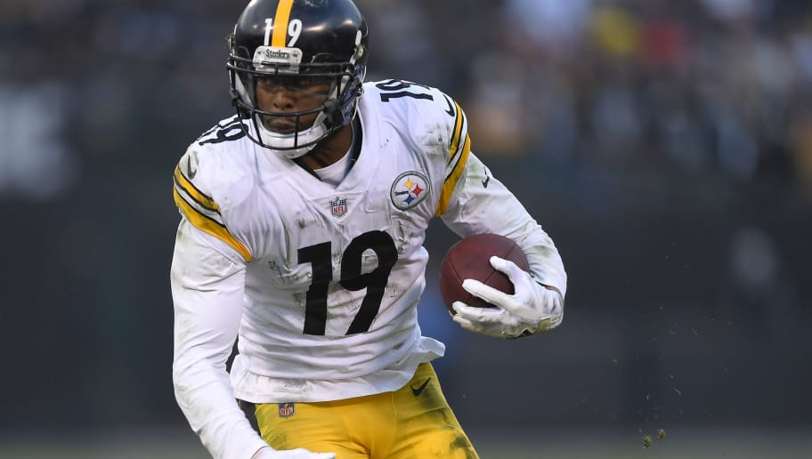 competitive price e2697 da5b7 Steelers Name JuJu Smith-Schuster Team MVP Even After Costly ...