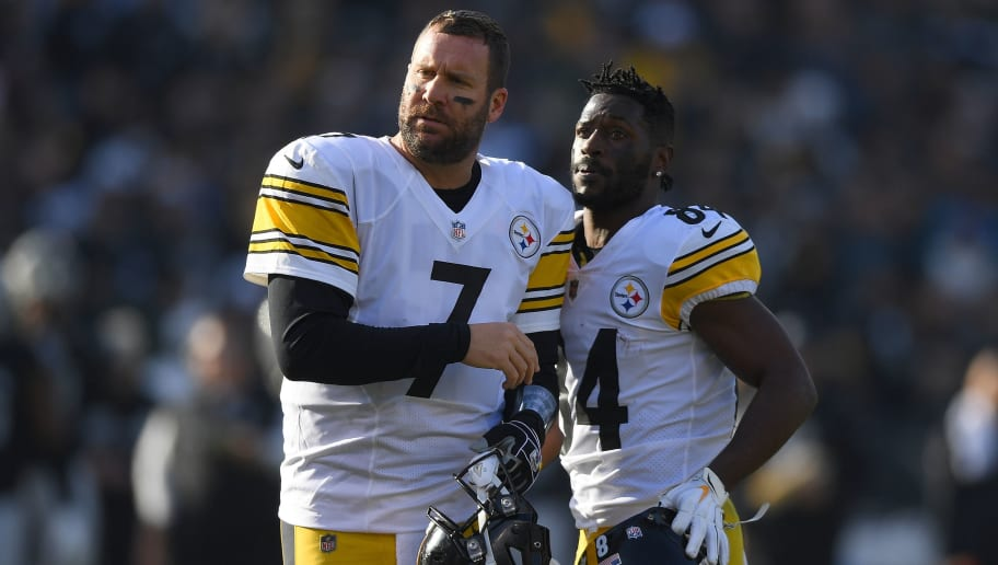 new concept 67003 35436 Steelers Teammates Fully Explain Beef Between Antonio Brown ...