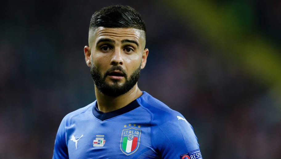 CHORZOW,  - OCTOBER 14: Lorenzo Insigne of Italy during the  UEFA Nations league match between Poland  v Italy  at the Slaski Stadium on October 14, 2018 in Chorzow  (Photo by Erwin Spek/Soccrates/Getty Images)