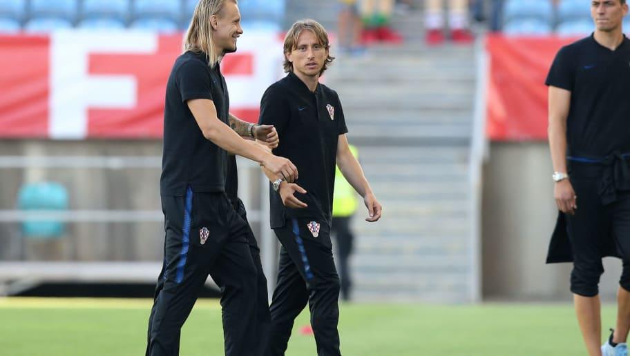 Luka Modric,Domagoj Vida