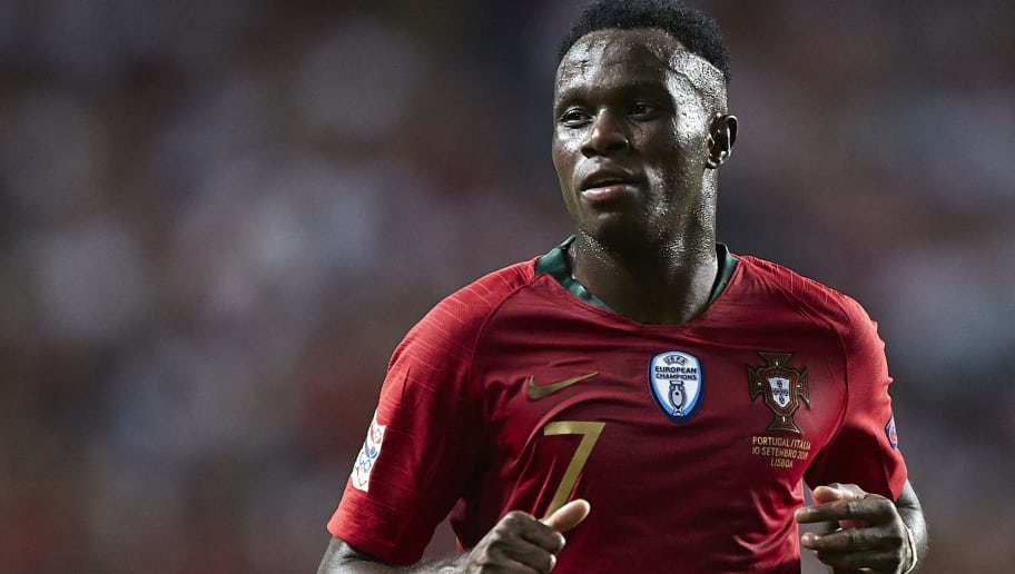 LISBON, PORTUGAL - SEPTEMBER 10:  Armindo Tue Na Bangna 'Bruma' of Portugal looks on during the UEFA Nations League A group three match between Portugal and Italy at Estadio do Sport Lisboa a Benfica on September 10, 2018 in Lisbon, Portugal.  (Photo by Quality Sport Images/Getty Images)