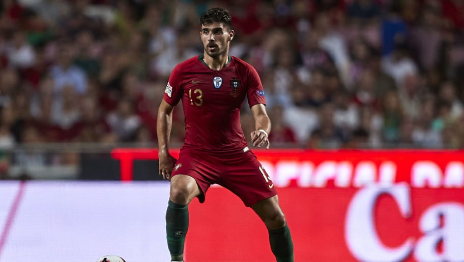 LISBON, PORTUGAL - SEPTEMBER 10:  Ruben Neves of Portugal in action during the UEFA Nations League A group three match between Portugal and Italy at Estadio do Sport Lisboa a Benfica on September 10, 2018 in Lisbon, Portugal.  (Photo by Quality Sport Images/Getty Images)