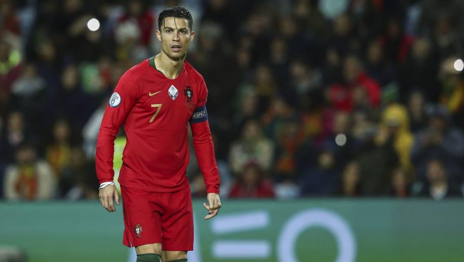 Cristiano Ronaldo Claims He Is Very Fit Despite Maurizio Sarri Knee Injury Claims 90min