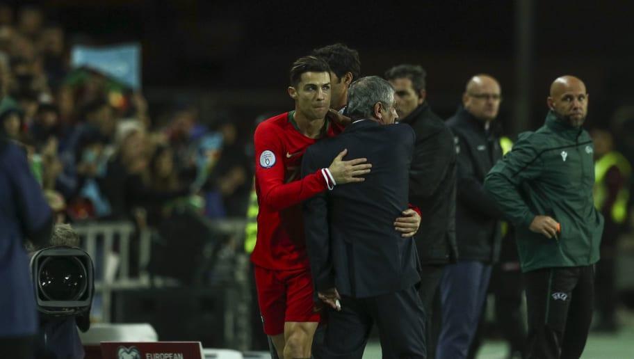 Portugal : Fernando Santos nargue ses détracteurs à propos de Cristiano Ronaldo
