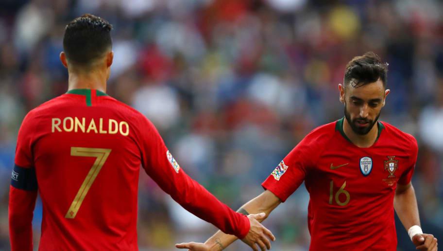Cristiano Ronaldo,Bruno Fernandes