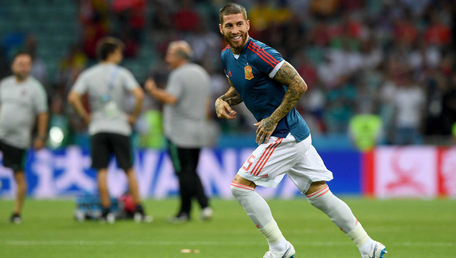 4765304f2 Sergio Ramos Ruthlessly Trolls Liverpool s Mohamed Salah Following Egypt  World Cup Misery