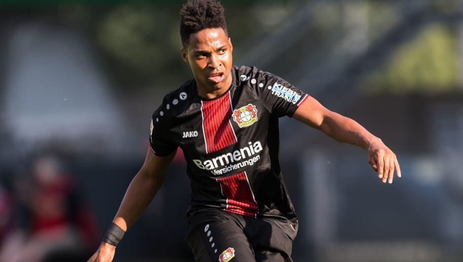 Wendell Nascimento Borges of Bayer 04 Leverkusen during the Pre-season Friendly match between Fortuna Sittard and Bayer Leverkusen at the Fortuna Sittard Stadium on July 28, 2018 in Sittard, The Netherlands(Photo by VI Images via Getty Images)